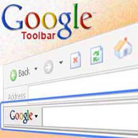 barra de herramienta de google
